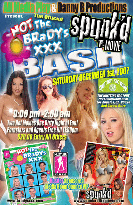 ntbXXX party flyer Sexy Thong is the website